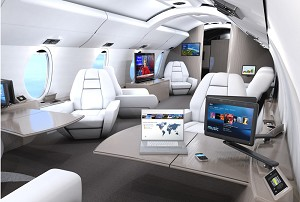 Rockwell Collins' Venue HD cabin system selected for BBJ