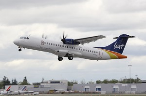 LIAT takes delivery of its 1st ATR-600