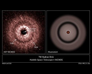 NASA's Hubble Uncovers Evidence of Farthest Planet Forming From its Star
