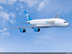 DORIC Lease Corp signs landmark agreement for 20 A380s