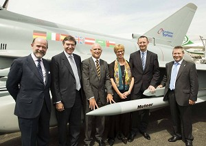 Eurofighter Signs Contract for Meteor Integration
