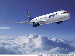 Spirit Airlines to grow fleet with largest Airbus single-aisle model