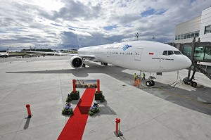 Boeing, Garuda Indonesia Celebrate Delivery of First 777-300ER to Airline