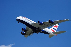 British Airways takes delivery of its first of 12 Airbus A380s