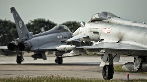 Record Exercise for RAF Typhoon Jets