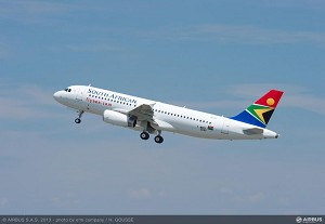 South African Airways takes delivery of its 1st 2 A320s