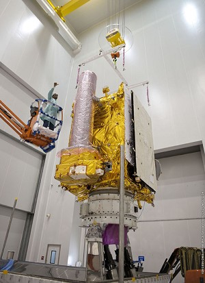 Another Ariane 5 mission is readied at the Spaceport for Arianespace