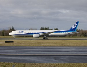 Boeing, ANA Announce Order for 3 777-300ERs