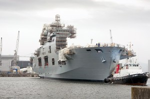 Babcock marks key milestone as HMS Ocean undocks