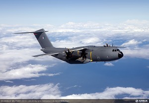 Airbus Military delivers 1st A400M to French AF
