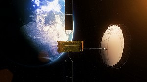Alphasat Deploys its Giant Reflector in Orbit