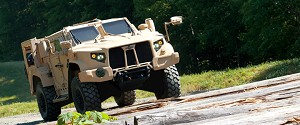 US Military, Oshkosh Commemorate 1st JLTV EMD Delivery