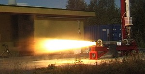 Succesfull Firing of Hybrid Rocket at Nammo Raufoss AS