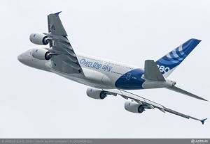 Airbus shows its latest products at MAKS airshow in Russia