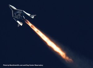 Virgin Galactic Flexes Spaceshiptwo's Unique Feather Mechanism in 2nd Supersonic Flight