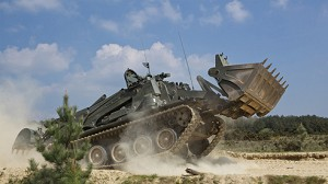 Terrier Demonstrating Innovation in Military Vehicles at DSEI