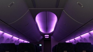 Aircraft Cabin of the Future Turns Heads in US