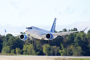 Bombardier's CSeries Aircraft Completes Historic 1st Flight