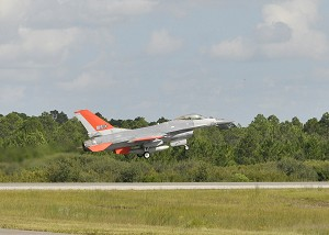 Boeing QF-16 Aerial Target Completes 1st Pilotless Flight