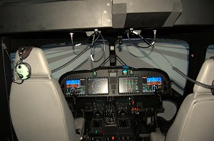 AW189 Flight Training Device Ready For Training