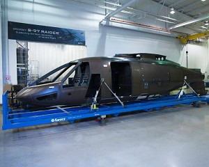 Sikorsky S-97 RAIDER Helicopter Enters Final Assembly with Delivery of the Fuselage from Aurora Flight Sciences