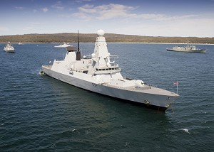Warships Ready to Sail for Fleet Entry