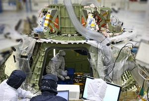 Lockheed Martin Powers up Orion Crew Module