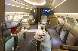 Airbus Highlighting Two Corporate Jets at Dubai Airshow