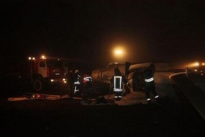Passenger jet crashes in Russia, killing 50
