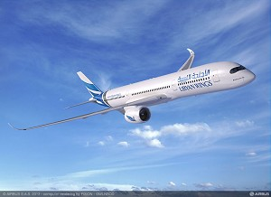 Libyan Wings orders 3 A350 XWBs and 4 A320neo's