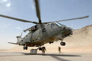 Defence Scientists Investigate Helicopter Engine Erosion