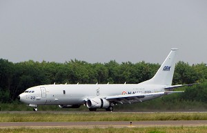 Boeing Delivers 3rd P-8I to India