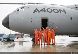 First Airbus Military A400M makes its final flight