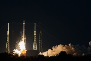 Launch Success for SES-8 Satellite on Board SpaceX/Falcon 9