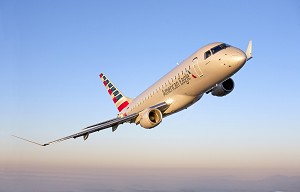 Embraer Receives American Airlines Order for up to 150 Aircraft