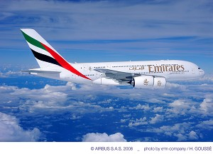 Emirates Airline firms up order for 50 additional A380s