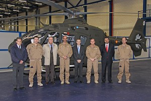 Spanish MoD Becomes World's Leading Operator of Airbus Helicopters' EC135 Helicopter for military use