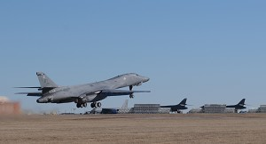 USAF Receives 1st B-1 Equipped with Boeing Integrated Battle Station