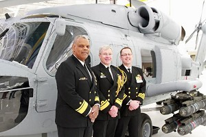 MH-60R In-Service Ceremony