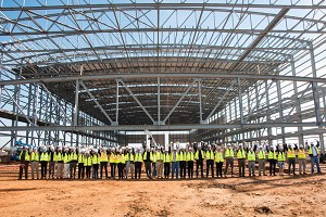 Airbus Mobile Assembly Line's First Building Taking Shape