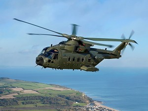 AgustaWestland Awarded UK MoD Merlin Life Sustainment Programme