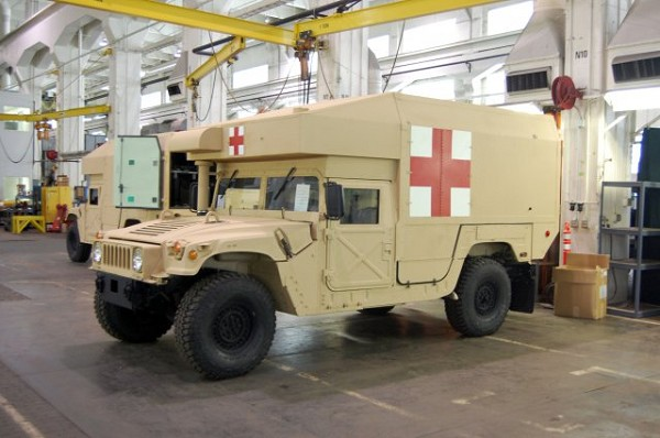 Rock Island Arsenal-JMTC unveils new National Guard ambulanc