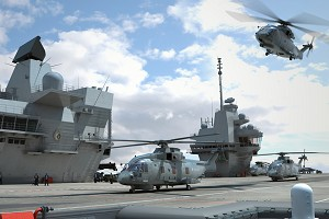 New surveillance system for Royal Navy aircraft carriers