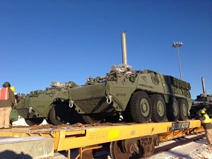 Strykers Take First Step in Move to Fort Carson