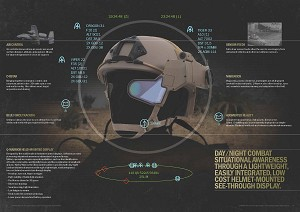 World's first 'head-up display for soldiers' in field testing