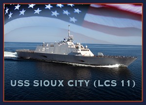 Keel Authenticated for 11th LCS, the future Sioux City