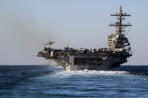 George H.W. Bush Carrier Strike Group Enters 6th Fleet
