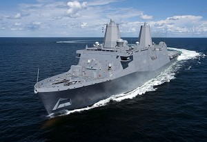 Navy to Commission Amphibious Transport Dock Somerset