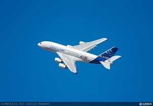 A380 takes centre stage at India Aviation 2014