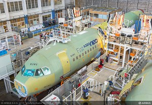 Airbus starts final assembly of best-selling A320neo